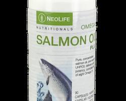 Omega-3 Salmon Oil Plus, Kosttillskott, fiskolja