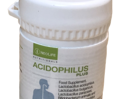Acidophilus Plus, Kosttillskott, mjölksyrebakteriepreparat
