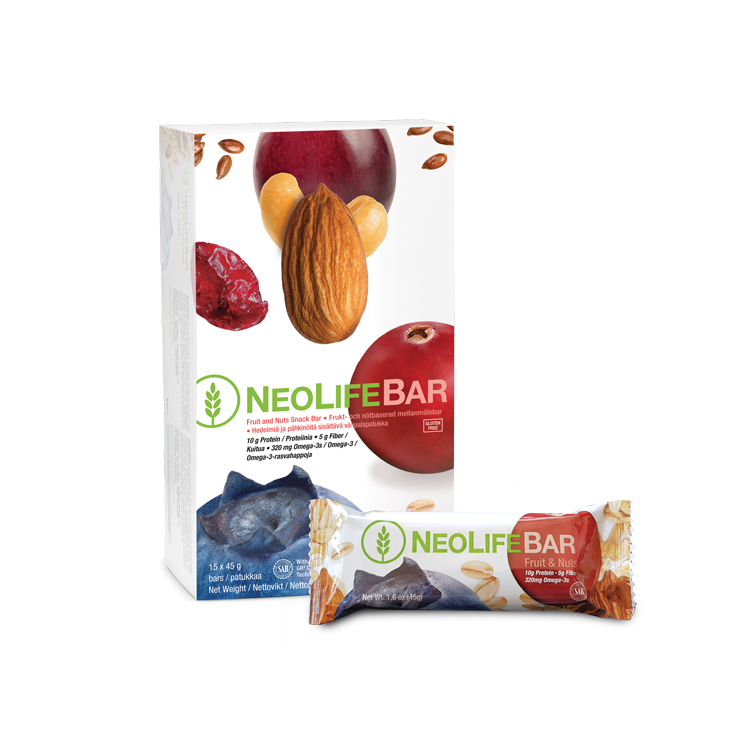 NeoLifeBar-Frukt & Nötter ( Är du hungrig mellan måltiderna?