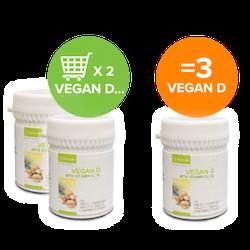 Begränsat vegan D Erbjudande   13 /10--2/11 21ta 3 betala för  2 st