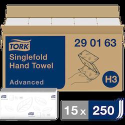 HANDDUK TORK V-FOLD 2-L H3
