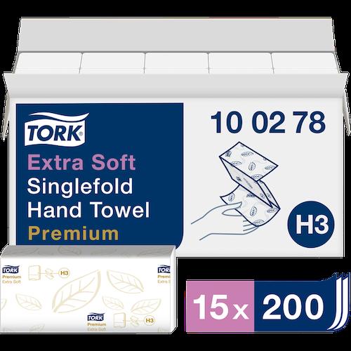 HANDDUK TORK V-FOLD X-MJUK H3