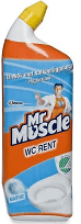 WC-RENT MR MUSCLE  750ML MARINE
