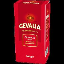 KAFFE MELLAN BRYGG GEVALIA 500 GR