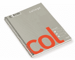KOLLEGIEBLOCK LINJERAT A4