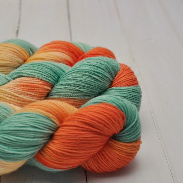 Poldale Sock Cricket orange