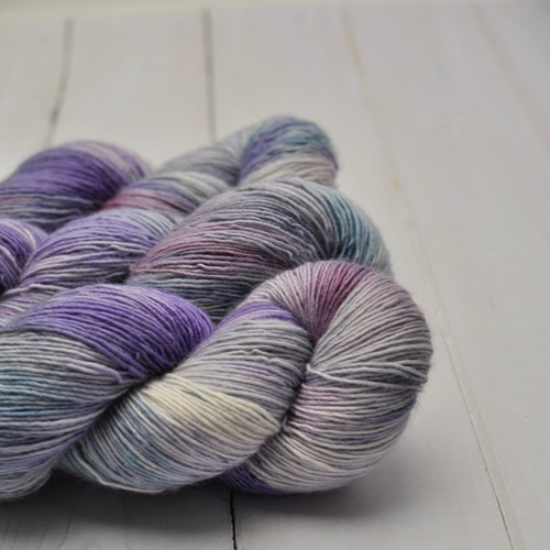 Merino Single - Winter Violets