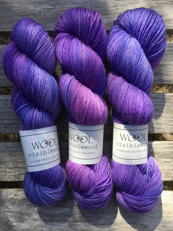 Poldale Sock Purples