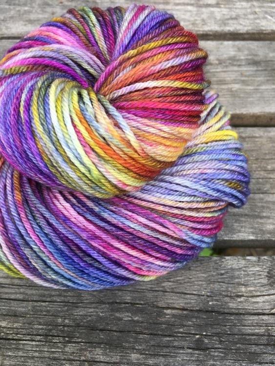 Merino Sock DK- I Monets Trädgård
