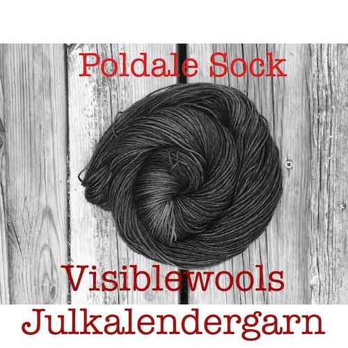 Garnkalender 2020 - Poldale Sock