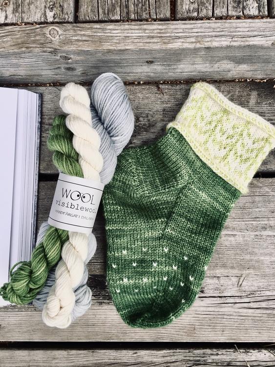 Bok+Sockpaket- Gran