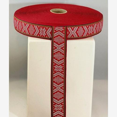 Reflexband Röd Leksandsband