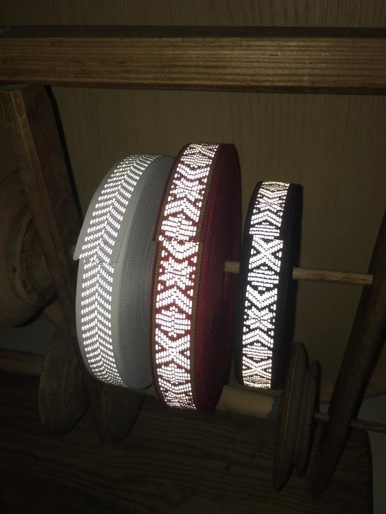 Reflexband Svart Leksandsband