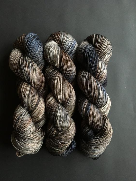 Merino Soft Slagg Mörkblå