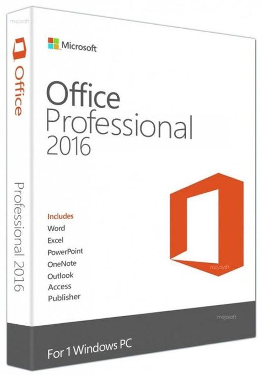 Microsoft Office Professional 2016