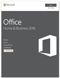 Microsoft Office Hem & Business 2016 for MAC