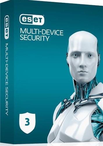 ESET Multi-Device Security 1 år, 3 brukere