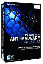 Malwarebytes Anti-Malware Premium 1 år, 1 bruker