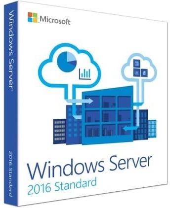Microsoft Windows Server 2016 Standard 16 kjerner NO (64-bit OEM)