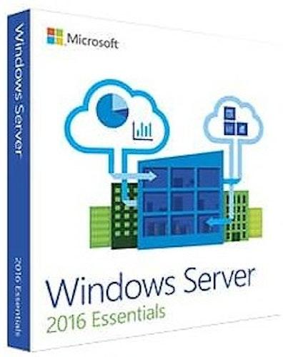 Microsoft Windows Server 2016 Essentials EN (64-bit OEM)
