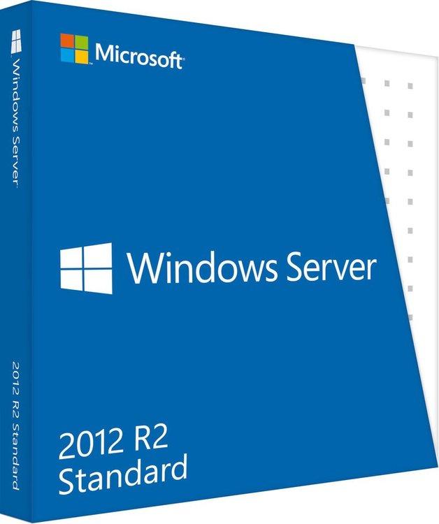 Microsoft Windows Server 2012 R2 Standard 2 CPU EN (64-bit OEM)