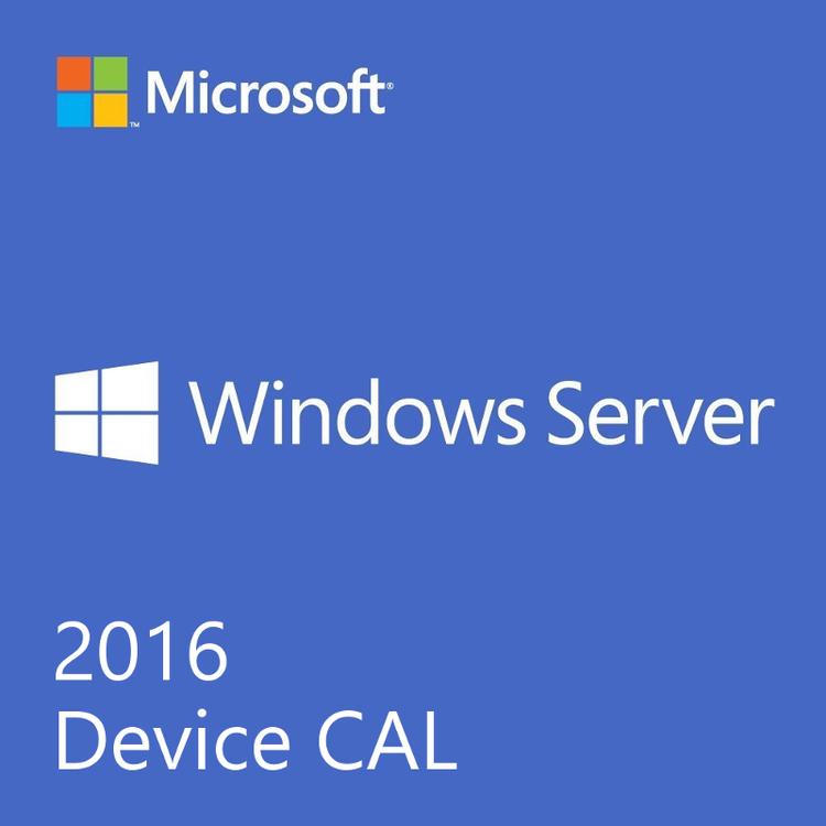 Microsoft Windows Server 2016 50 enhets-CAL