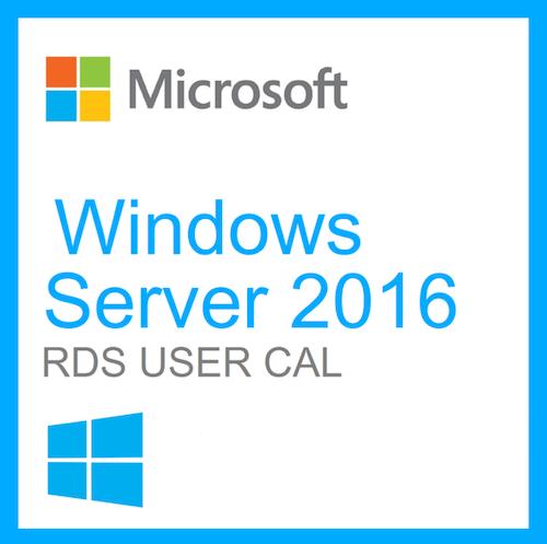 Microsoft Windows Server 2016 - Lisens - 50 RDS-enheter CAL