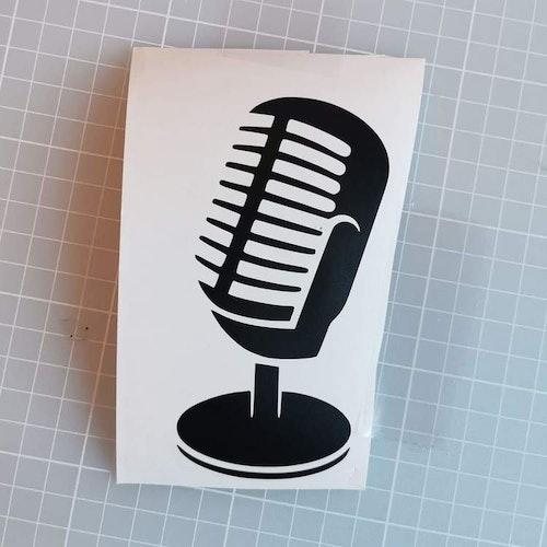 """Vinyldekor """" 50-tals mic"""""""