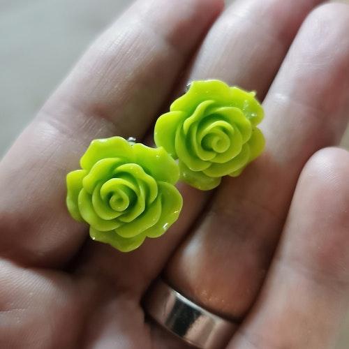 """Örhängen Clips """"Flower"""""""