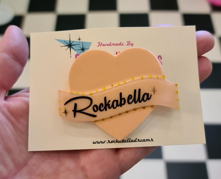 """Broscher """"Rockabella"""" text"""