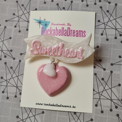 "Brosch ""SweetHeart"""