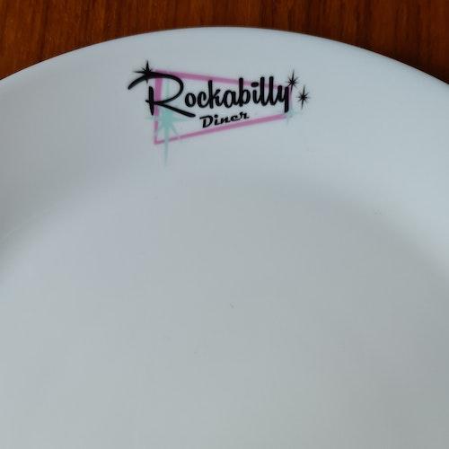 """Tallrik """"Rockabilly Diner"""""""