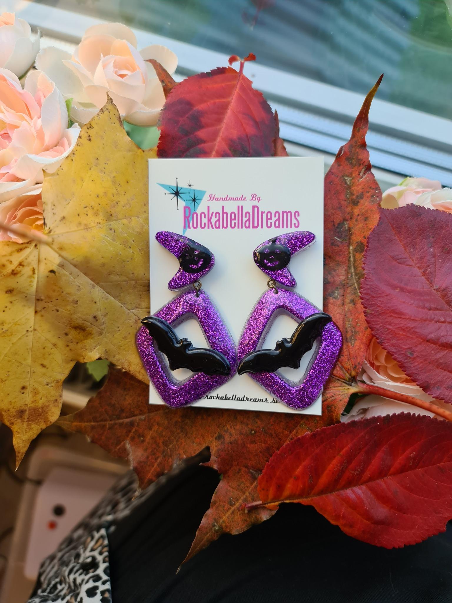 "Örhängen ""Halloween Boomerang"""