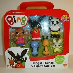 Golden Bear Bing & Friends 6 Figure Gift Set - Förbeställ