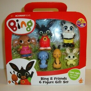Golden Bear Bing & Friends 6 Figure Gift Set