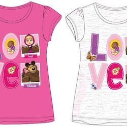 Masha and bear t-shirt