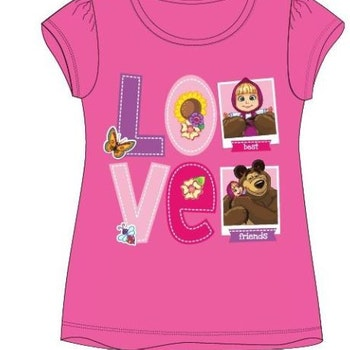 Masha and bear t-shirt