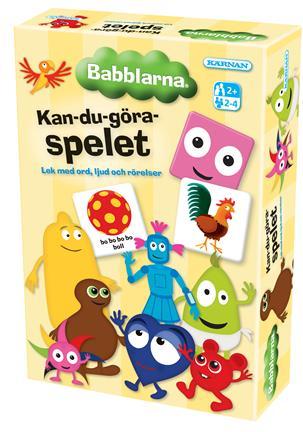 KAN DU GÖRA SPELET - BABBLARNA - KÄRNAN