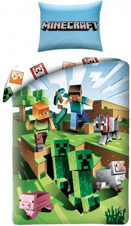 Minecraft bäddset - FÖRBESTÄLL