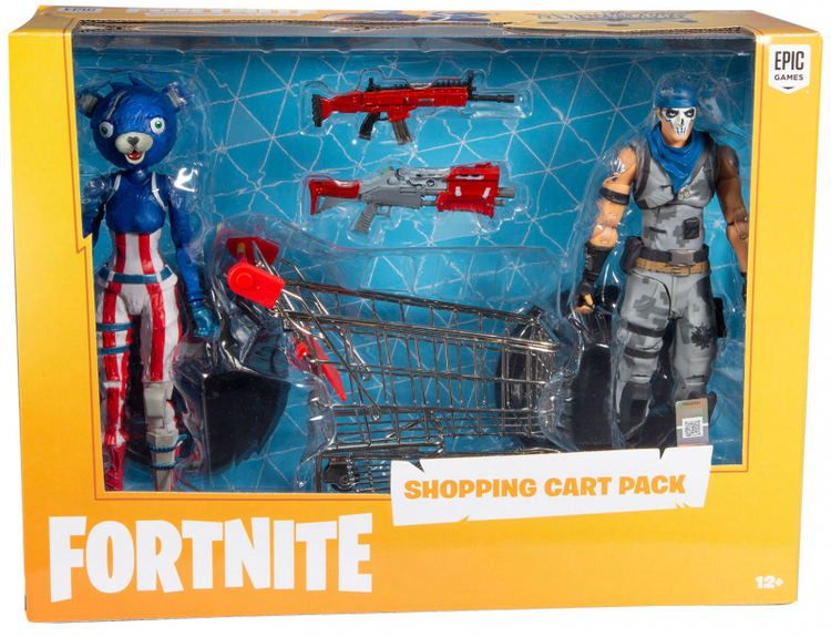 Fortnite shopping cart pack