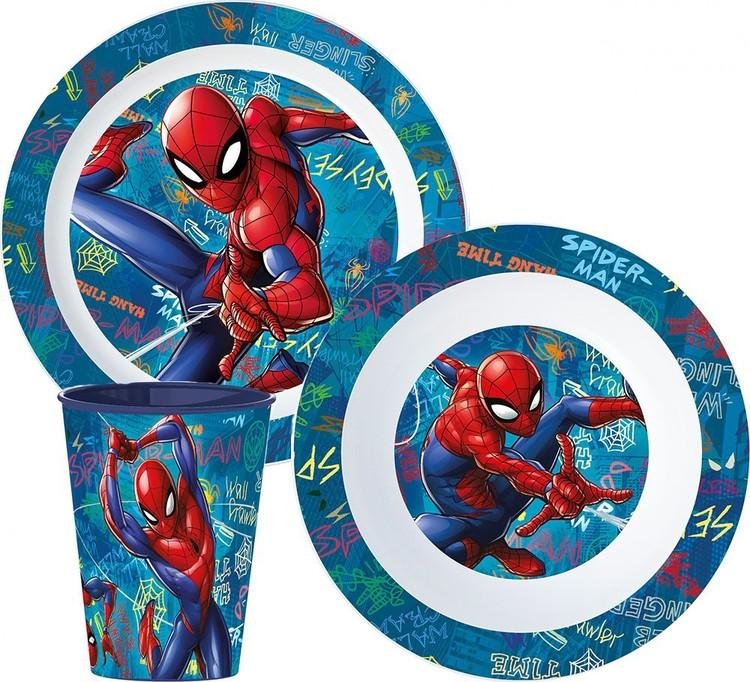 Spiderman mat set