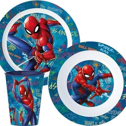 Spiderman mat set