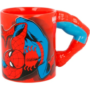 Häftig Marvel Spiderman 3D mugg