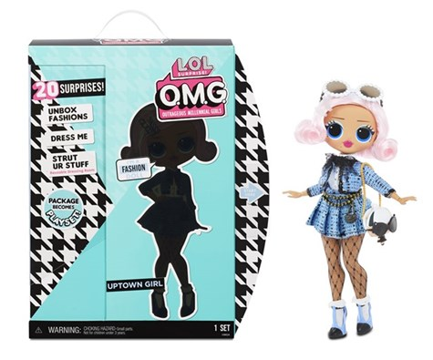 L.O.L. Surprise OMG 3.8 Doll - Uptown Girl