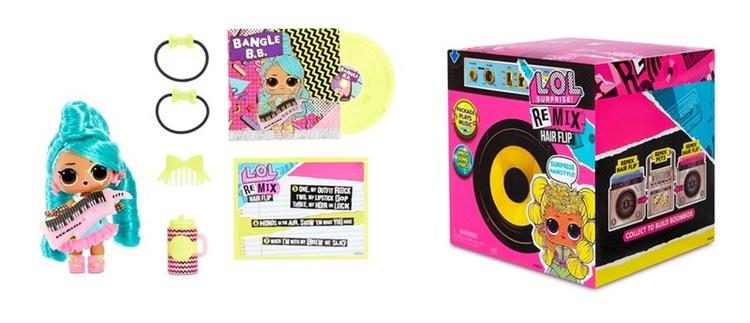 L.O.L. Surprise! Remix Hairflip Tots Dockor 12 Varianter PDQ