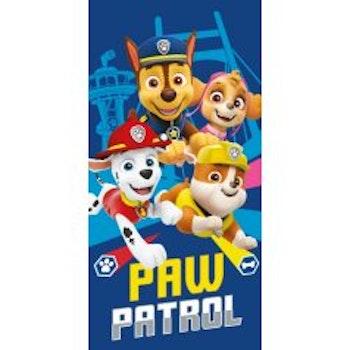 Badlakan med Paw Patrol vovvarna