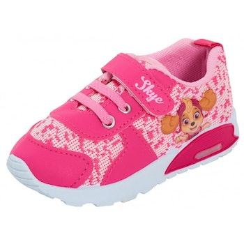 Rosa Paw patrol sko med ljus