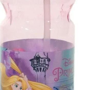 Rapunzel dryckeshållare med inbyggt sugrör - Beställningsvara