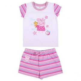 Greta gris kort pyjamas