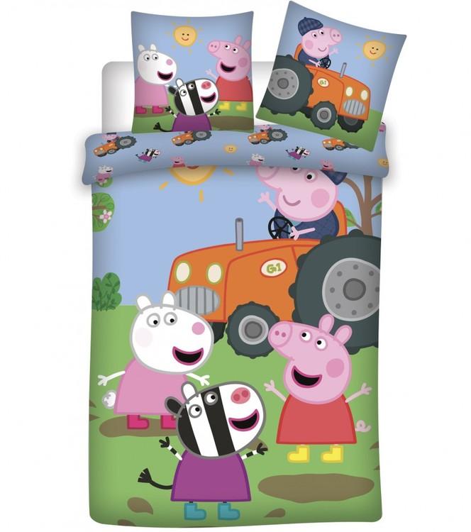 Greta gris bädd set för spjälsäng (NYHET)